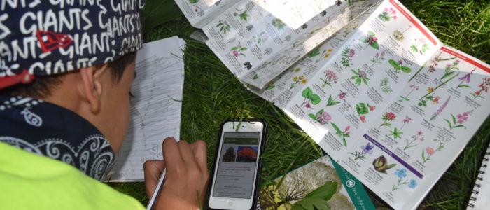 Students explore Central Park